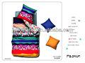 Jogo de cama duvet cover/colcha simples conjunto/100 algodão jogo do fundamento