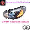 Headlight for Great Wall Hover M4 Auto Lamp Angel Eyes Headlight