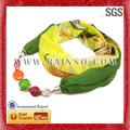 Populaire Style frais en mousseline de soie écharpe gros foulard Hijab