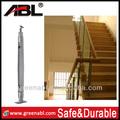 شعبية دائمة 2014 304 الفولاذ المقاوم للصدأ inox درابزين الدرج الخارجي/ سلامة حديدي درابزين الدرج