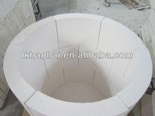 fireproof material calcium silicate Pipe/tube/ Arc panel 1000 degree High density 100% non asbestos