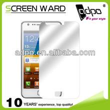 Professional Mobile Phone Mirror Screen Protector For Samsung I929 Mobile Phone Screen Protector Film