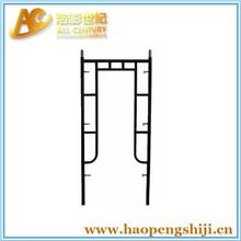 open end and walk thru steel ladder frame scaffolding
