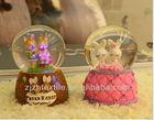 Wedding Decoration Crystal Balls with light, Snow Globe Resin Wedding Ornament,Wedding Gift