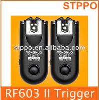 Yongnuo RF603 II Radio Wireless Remote Flash Trigger N3 For Nikon Nikon D90 D5000 D5100 D7000 D3100