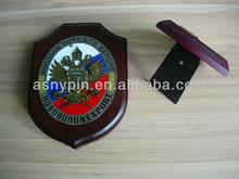 de defensa de rusia a la exportación de madera de encargo premio escudo trofeo placa para el recuerdo