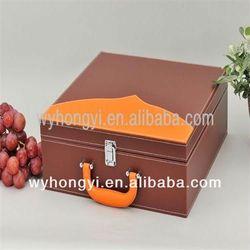 wine box two bottles cardboard wine carrier