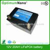 12v lithium car starter battery 20ah