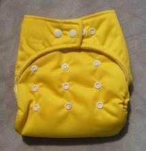 white baby diaper bambo diaper liner