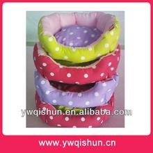 Wholesale Qishun 2014 New Dot Dog Bed Pet Beds