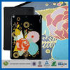 C&T Ctunes Glitter Rose printed leather flip stand case for ipad air