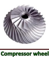 Locomotive and marine turbocharger spare parts high precision lathe part