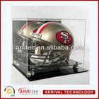 High Polished Professional Design football display stand/football case/football helmet display case