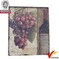 exportador de artesanía y las uvas de vino de madera de la pared decoración en estilo de francia