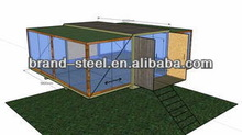 B.R.D 40ft kit living modular moveable container house for sale