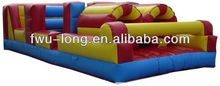 2014 hotsale commercial inflatable obstacle course/interactive inflatables/inflatable sports games