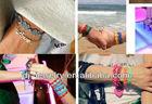 new Hot Selling 100% Good Quality muti-color Fashion Butterfly Lace bracelet Italy lace bracelet Cruciani bracelet