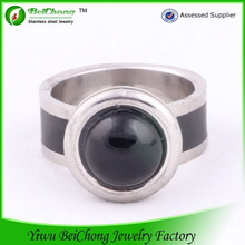 Gemstone jewelry manufacturer monster high jewelry stainless steel joyas acero personality male ring