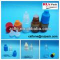Plástico frasco conta-gotas de ldpe, espremido frasco plástico conta-gotas 3/4/5/8/10/15/20/30/50ml