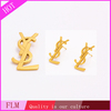 Hot dollar shape Gold Jewerly Wholesale Stainless Steel Sets FLMSS011