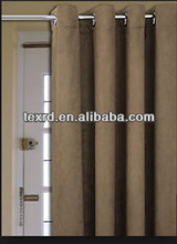 Polyester Suede Fabric Curtain
