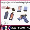 TNOX 2014 Brand New Metal gadgets Lighter pinhole dvr with lighter shape+USB disk+Video Camera