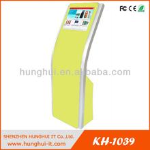 Floor Standing 19 Inch LCD Kiosk / Touch Screen Information Kiosk