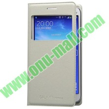 Business Type Flip Leather Case for Samsung Galaxy Grand 2 with Call ID Display and Chip