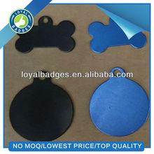 Bone shaped pet tag/cheap dog tag/anodized dog tag