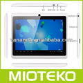 Q88 android 4.2/4g/512mb/a13 tablet pc na cor bonita