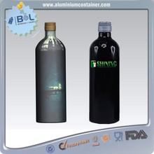 aluminum wine bottles 750 ml for ky