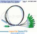 1*8 plc fibra óptica splitter precio