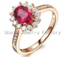 2014 moda di lusso di nozze zircone 2,5 carati anello di diamanti