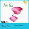 Colorful Cheap Flexible portable pet bowl