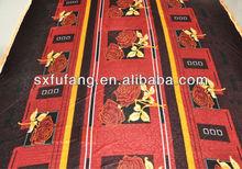 Hot sale New design good quality knitted pleuche velet fleece blanket bedsheet PLEUCHE BEDSHEET in bulk china product