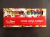 artist quality acrylic color, eco-friendly acrylic paints