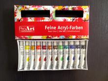 12ml acrylic paint, aluminium tube acrylic color, fancy acrylic color