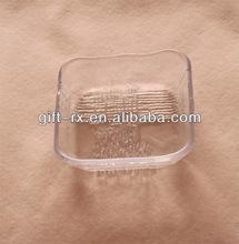 transparent acrylic soap case holder