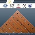 pannelli acustici in legno traforato