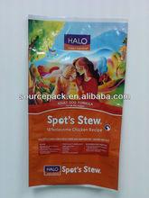 dog food bag/big dog food plastic packaging bags/dog food packaging bags distributor