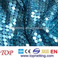 Decorative wall drapery metal mesh drapery