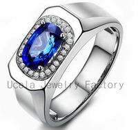 2014 Fashion Luxury Zircon wedding male wedding rings