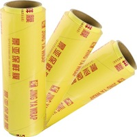 keep food fresh hand stretch film pvc film for food manufacturer
