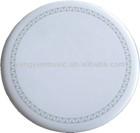 drum head drum skin dull polish white color