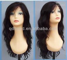 Alibaba best seller virgin peruvian human hair lace front wigs 6A grade