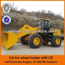 Shangchai engine & ZF gearbox wheel loader zl-50g, Joystick control zl-50g wheel loader