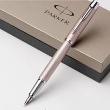 Gold color paker Fountain Pen IM Series Champagne Silver