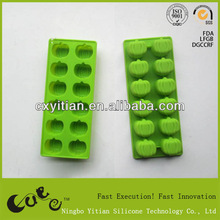 Silicone pumpkin Ice cube tray Silicone Mould,pumpkin shape mold silicon ice tray