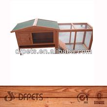 Wooden 2 Story Rabbit Hutch DFR-064