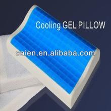 Adult head massage gel memory foam contour pillows